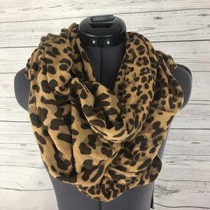 Banana Republic leopard scarf wrap